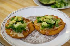 thick tortillas made from masa harina (sonoran enchiladas)