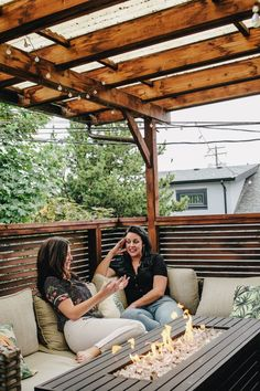 Vancouver's recent warm and sunny days have allowed us to get an early taste of patio weather! ☀️ To help you revive your own outdoor space, we recommend drawing inspiration from Willo. Willo's deck offers plenty of seating, cozy pillows, and a relaxing fire pit. Her overhang also provides some extra shade, and protection from any surprise rainfall. Pre-COVID it was one of our team's favourite spots to hangout after a busy day in the office. #Vancouver #realestate #deck Porch Swing, Outdoor Furniture, Outdoor Decor, The Office, Sunny Days, Vancouver, Outdoor Living, Deck, Real Estate