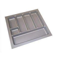 Besteckeinsatz silbergrau 50 cm für Alno, Pino, Impuls, Burger (B 480 x T 440)…