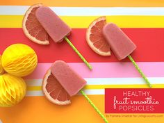 How about to try to prepare tasty home-made popsicles?