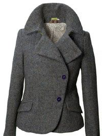 Green Barley Corn Harris Tweed Emma Jacket - Tweed Jackets ...