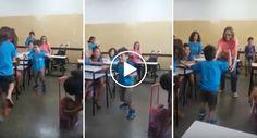 Crianças Emocionam Ao Torcer Pelo Colega Que Andou Sozinho Pela 1ª Vez Aos 6 Anos