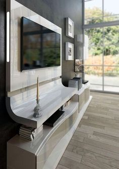 Unique Tv Wall Unit Setup Ideas (3)