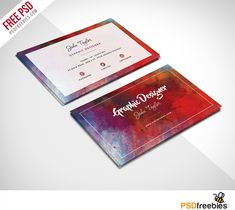 Download Free Abstract Business Card PSD Template.This Free Abstract Business Card PSD is perfect for any kind of company ,agency, Graphic Designer, Graphic Artist or any personal use. This Free Abstract Business Card PSD Template is 2.2 by 3.7in and is ready for print, because it's in CMYK at 300 dpi. The psd file can be edited in Adobe Photoshop, and to be able to hange the text.