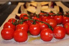Veggie-ssima: Penne di farro con verdure confit e sesamo nero