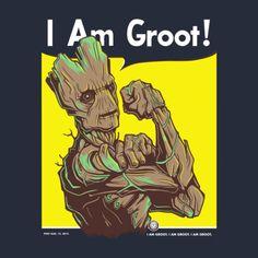 I AM Groot | am Groot! – Guardianes de la Galaxia + Propaganda feminista. 14 ...