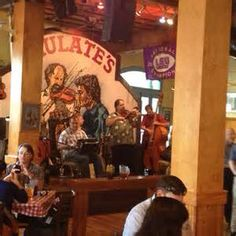 Dinner and good Cajun music at Mulate's