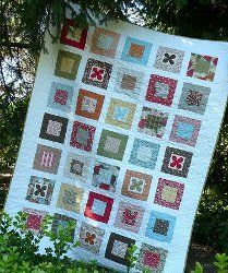 Blooms in Boxes Quilt