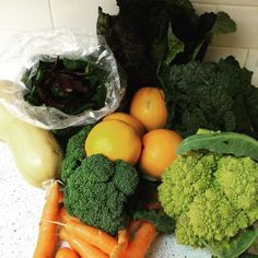 """My 4th box of fresh local organic food. I'm so lucky that @soil_born_farms is so close to my home.  #organic #eatyourveggies #cookfresh #cookyourownfood #ranchocordova #sacramento #farmtofork"" @artdexi"