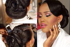 Black Wedding Hairstyles, Wedding Day Makeup, Hair Growth Tips, Wild Hair, Getting Married, Bridal Hair, Marie, Natural Hair Styles, Hair Cuts