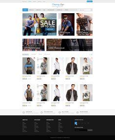 e-commerce of men fashion website