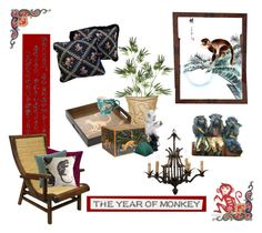 """""""Happy Chinese New Year !"""" by kathleensmith-i ❤ liked on Polyvore featuring interior, interiors, interior design, home, home decor, interior decorating, Pier 1 Imports, J. Fleet Designs, Lalique and Lladró"""