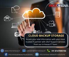 Ensure safe backup of your critical data on the Cloud. With the experienced technical team at Micronova, we effectively manage all types of data securely. So you can now access your data anytime, anywhere! To know more about our cloud backup and storage service, give us a call at +91 8147090194 or email us at salesblr@micronova.in. #cloudmanagedservices #cloudbackupandstorage #cloudbackupservices #cloudmanagement #webhosting #cloudinfrastructure #Micronova Network Infrastructure, Cloud Infrastructure, Service Level Agreement, Business Requirements, Network Solutions, Security Solutions, Understanding Yourself, Management, Clouds