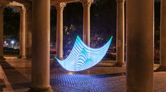 Designed by Duncan Frazier and Steve McGuigan of Brookyln-based BitBanger Labs, the Pixelstick is a fancy new gadget for creating long-exposure light paintings. The device reads digital images created in Photoshop (or any other editor) and displays them one line at a time through an array of 198 ful