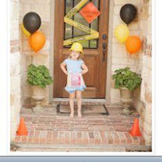 construction party   www.bringingupmadison.blogspot.com