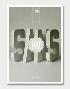 Tom Davie – Typographic Goods / Aqua-Velvet