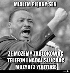 ale to tylko sen :( Wtf Funny, Funny Jokes, Funny Lyrics, Polish Memes, Dark Sense Of Humor, Weekend Humor, Funny Mems, Happy Photos, Funny Moments