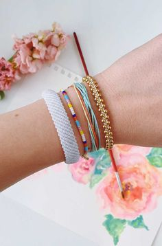 Purvida bracelets - 30 Boho Ankle Bracelets You need this Summer – Purvida bracelets Purvida Bracelets, Bracelet Crafts, Anklet Bracelet, Anklets, Cute Friendship Bracelets, Anklet Designs, Accesorios Casual, Cute Jewelry, Jewlery