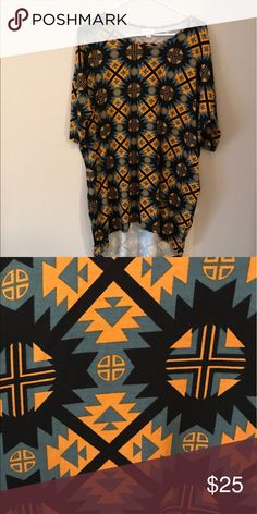 New M Irma LulaRoe - Never worn! Aztec print LulaRoe M Irma. Brand new, but the tag fell off! LuLaRoe Tops Tees - Short Sleeve