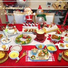 ✩2013 Xmasディナー ✩ . #Xmas #クリスマス #おうちディナー #ディナー #1歳 #お料理 #2013 #こども #クリスマスディナー #特別な日 #テーブルコーディネート #cooking #homemade #party