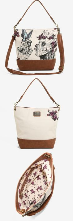 A Lovely Loungefly Groot Floral Crossbody Bag