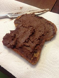 Clean Eating Nutella - from My Whole Foods Life blog. Love it! Tastes just like the real thing!