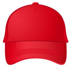 Red Baseball Cap PNG Clipart