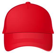 Red Baseball Cap PNG Clipart