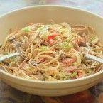 Cheap Recipe Blog » Summery Kitchen Sink Salad With Creamy BBQ Dressing