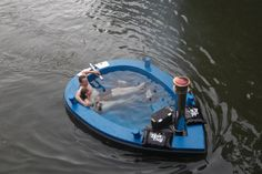 Hot Tug, the jacuzzi boat, is the hottest ride you'll have year-round