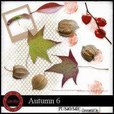 Autumn 6 elements #CUdigitals cudigitals.com cu commercial digital scrap #digiscrap scrapbook graphics