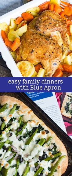 With Blue Apron, weeknight meals have never been easier. Create easy family dinners with fresh, perfectly portioned ingredients delivered right to your door. meal planning #BlueApron  ooh.li/c5e141c  AD
