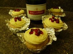 Grown-Up Cupcakes (Boozy Cupcakes) on Pinterest | Mojito Cupcakes ...
