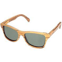 da53a424f1b0 Shwood Eyewear Canby Polarized Wood Wayfarer Sunglasses
