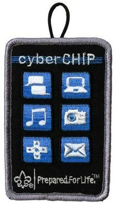 The Cub Scout Cyber Chip helps teach kids internet safety.