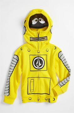 Volcom 'Yo Gabba Gabba!™' Mask Hoodie (Toddler & Little Boys) available at #Nordstrom