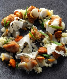 This is a remarkable sweetbreads recipe from Adam Simmonds that tastes as good as it looks.