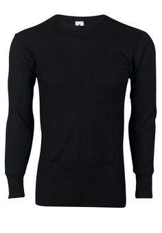 Black Cuffless Long sleeve Tee Shirt with Embroidered NCIS