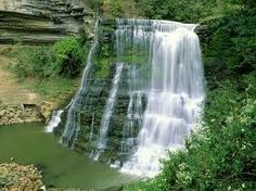 Burgess Falls in Tennessee