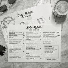 Cafe Menu Design by designki.com