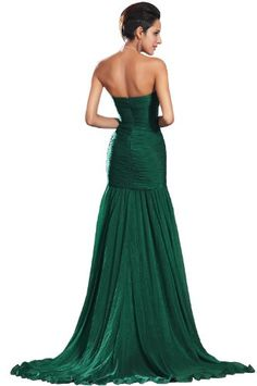 eDressit 2013 New Green High Split Strapless Evening Dress (00134604)  - Click image twice for more info - See a larger selection of prom dresses at http://girlsdressgallery.com/product-category/prom-party-dresses/ - woman, girls, junior dresses, girls dresses, teenager, girls fashion, womens fashion, gift ideas, dresses,special occasion dresses , night dresses, party dresses, gown