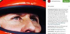 Em meio a incertezas sobre o estado de saúde de Michael Schumacher após acidente de esqui em dezembro de 2013, o estafe do ex-piloto criou uma conta oficial no Instagram,ativada neste 13 de novembro, dia que a lenda da modalidade comemora o 22º aniversário de seu primeiro título de Fórmula 1.  //