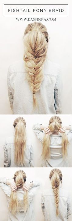 How To Do The Twisted Fishtail   The Trendiest Hairstyle Of The Season