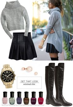 Get The Look | Minimal Chic | The Teacher Diva: a Dallas Fashion Blog featuring Beauty & Lifestyle