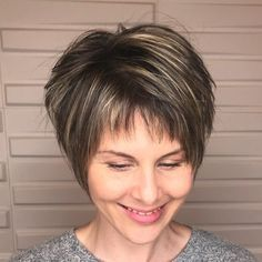 98 Best Short Hairstyles with Bangs 23 Trendy Ways to Wear Short Hair with Bangs, 42 Short Hairstyles for Women 2020 [best Trending Haircuts], Short Hair Cuts 2019 for Women, Hairstyles and Haircuts with Bangs In 2020 — therighthairstyles. Short Bobs With Bangs, Pixie Cut With Bangs, Short Hair With Bangs, Short Hair With Layers, Short Hair Styles, Hair Short Bobs, Short Wedge Haircut, Bob Pixie Cut, Pixie Bangs