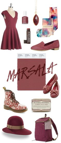 Marsala  |  Spring 2015 Pantone Colour of the year