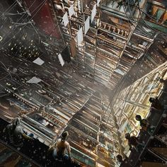 Art Inspired by Kowloon Walled City, Hong Kong:  From Fritz Lang's 1927 'Metropolis' to Orwell, to Blade Runner – artists have long been fascinated with the dark horrors that a dystopian future represents. For many, Kowloon Walled City (torn down in the 90s by the colonial government) evoked many of these themes and thus, it has inspired many artists. Below are a few highlights.