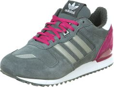 393e51fdb0e25 Adidas ZX 700 W chaussures gris argent rose