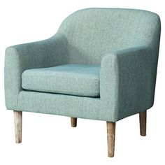 Christopher Knight Home Winston Retro Chair - Blue/Green