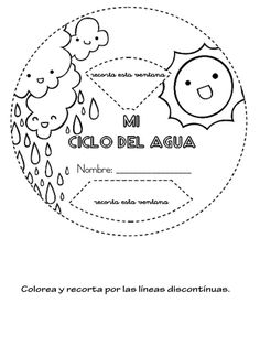 Cuaderno Interactivo Ciclo del Agua (8) Kid Science, Social Science, Science And Nature, Preschool Learning Activities, Kindergarten Science, Teaching Science, Teaching Kids, Science Fair Projects, School Projects
